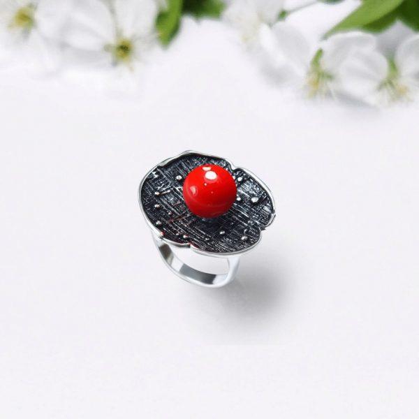 Red Cherry Ring